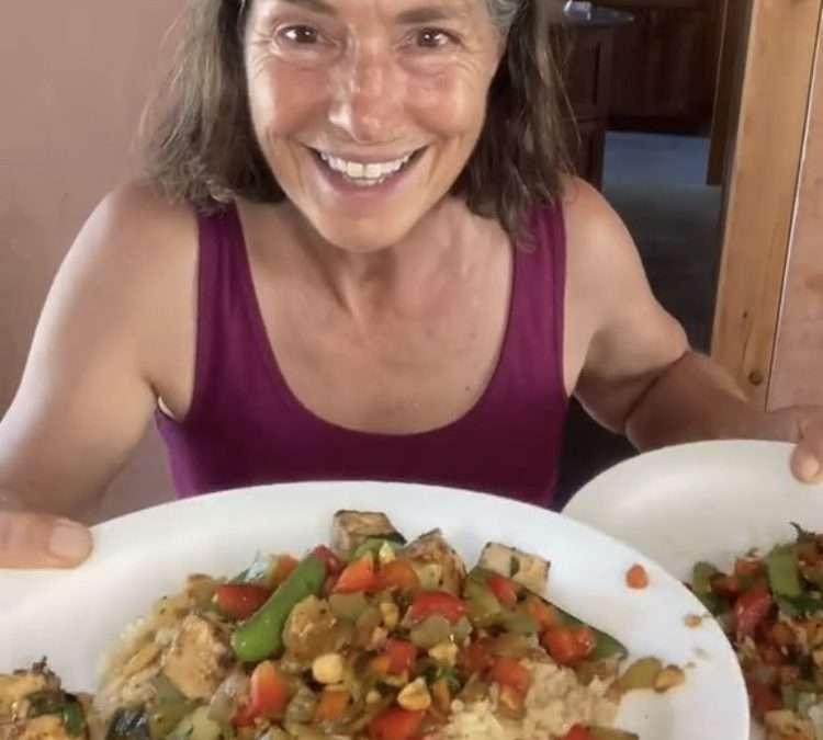 Kung Pao Stir-Fry with Tofu